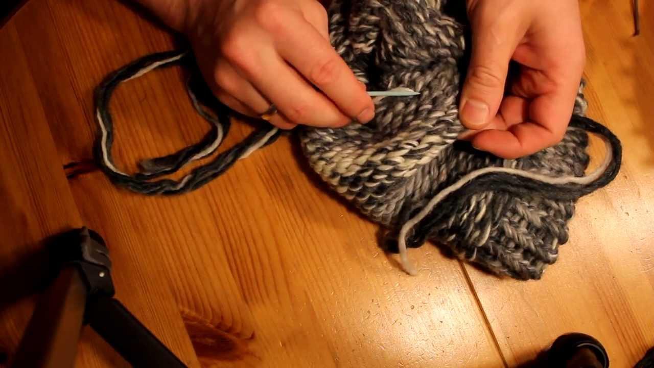 mtze mit strickrahmen stricken teil 0606 fden vernhen - Strickrahmen Muster