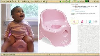 UNBOXING | Summer Infant Lil' Loo Potty, Pink | Kids Video included | Amazon | $8.79 |
