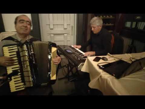 Армянский Аккордеонист Артём Арутюнян и Сашик Котанджян - красивая армянская песня Цахикнер