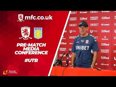 Aston Villa Media Conference