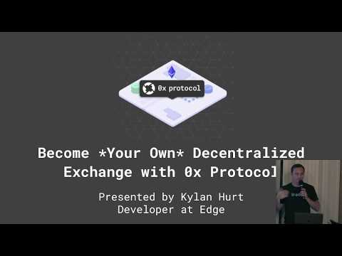 Becoming *Your Own* Decentralized Exchange with 0x: Overview