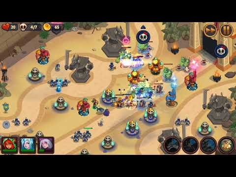Realm Defense - World 3 Level 80-Pharoah's Finale - Campaign 3 Stars