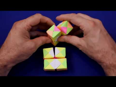 How To Make A Paper INFINITY CUBE!!!