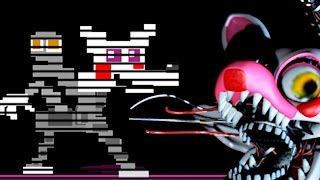O MISTÉRIO DA MANGLE NO FNAF 4