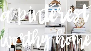 Tips For A Pinterest Worthy Home! // KATE LA VIE