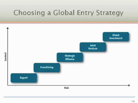 entry barriers of global marketing Barriers to entry in industrial markets  this advantage is established because of entry barriers,  september 1993 journal of global marketing.