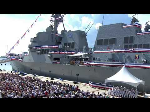 USS Paul Ignatius Commissioning Ceremony