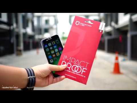 ไม่ใช่กระจก แต่กันจอ iPhone แตกได้ ท้าให้โยน กับฟิล์ม Protectionlabs !!! - วันที่ 12 Feb 2018