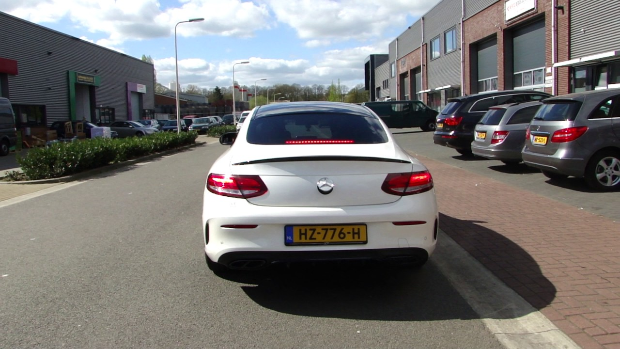 C205 Mercedes W205 C 300 Coupe Amg Exhaust Sound Sportuitlaat