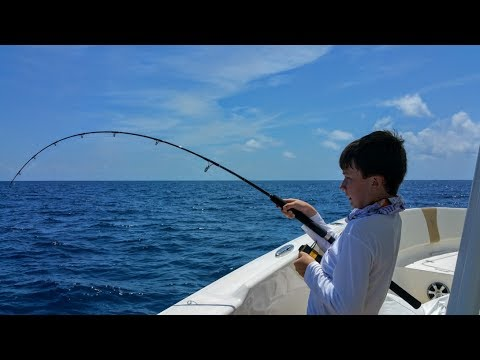 Offshore Fishing in the Gulf of Mexico with 4 12 year olds
