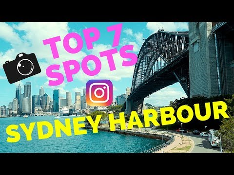 TOP PLACES TO SEE SYDNEY HARBOUR - PHOTO and INSTAGRAM
