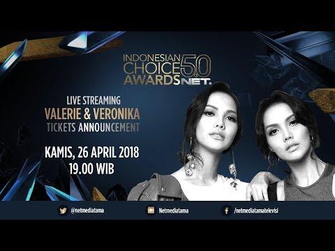 Live Streaming Pengumuman Tiket Indonesian Choice Awards 5.0 NET