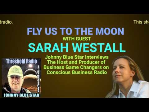 Show 22: FLY US TO THE MOON with guest SARAH WESTALL