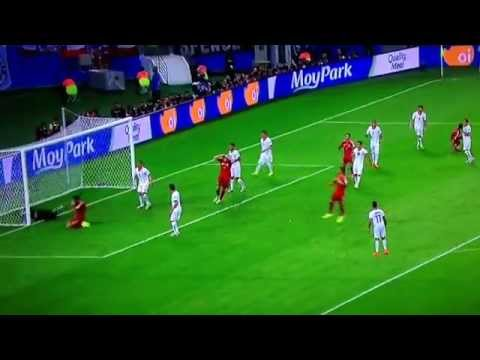 Busquets miss Spain vs Chile - World Cup 2014