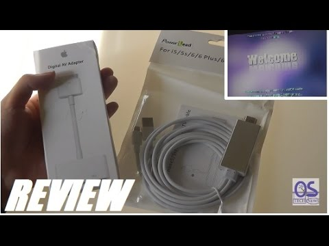 REVIEW: Apple HDMI Video Out Adapter Cables (Lightning/30Pin)
