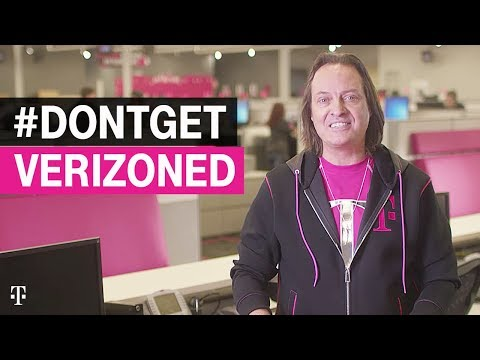 T-Mobile CEO John Legere: Truth about Verizon #DontGetVerizoned | T-Mobile