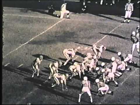 Vanderbilt - Tennessee 1956 Johnny Majors