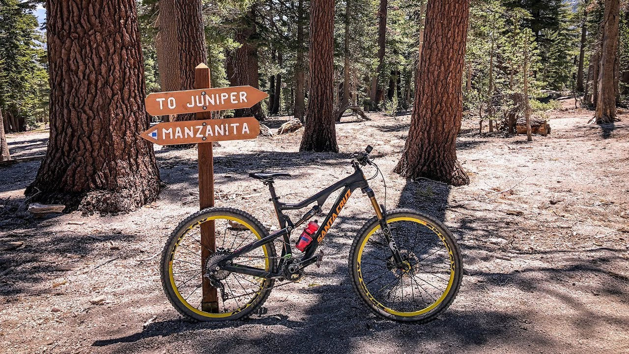 68d069a641d Juniper - The serene side of Mammoth Bike Park - YouTube