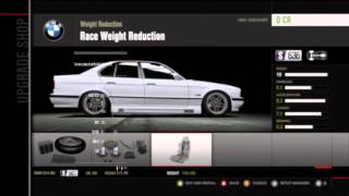 Forza Motorsport 4 tuning a 1995 BMW M5 To drift