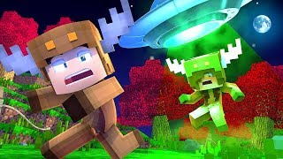Minecraft Daycare - ALIENS TAKE BABY GIRLFRIEND! w/ MooseCraft (Minecraft Kids Roleplay)