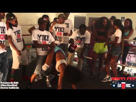 !! ** Yike Files: The Lost Dance Scenes From The Yiken Video - (Twerking + Yiking) ** !!