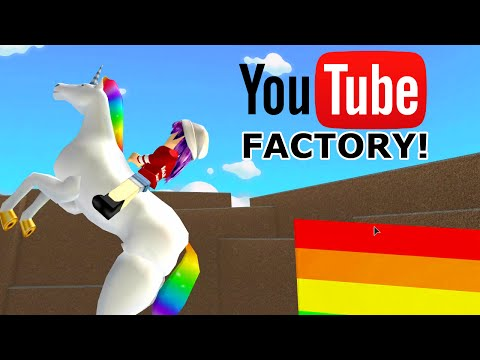 ROBLOX LET'S PLAY YOUTUBE FACTORY TYCOON PT1   RADIOJH GAMES