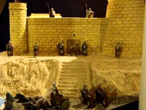 Portal de belen del castillo de santa ana 2010 roquetas - Portal de belen pinypon ...
