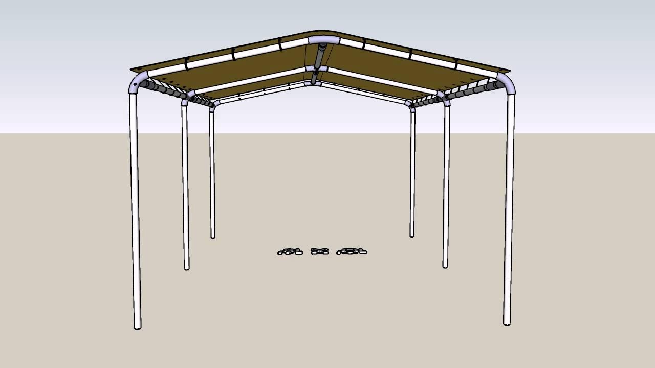 & 10u0027 x 16u0027 Canopy Set Up Guide - CanopiesAndTarps.com - YouTube