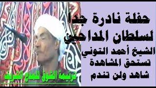 سلطان المداحين الشيخ أحمد التوني وساعة كاملة من حفلة نادرة بصعيد مصر في التسعينيات