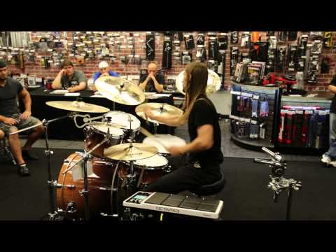 Zak G. Drum Solo Guitar Center