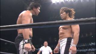 NJPW GREATEST MOMENTS TANAHASHIvsNAKAMURA SPECIAL