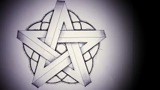 Impossible Pentagram (How 2 Draw Optical Illusions)