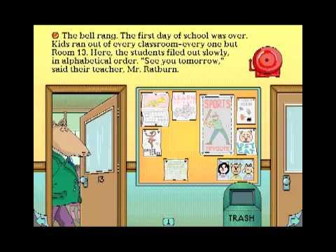 arthurs teacher trouble coloring pages - photo#6