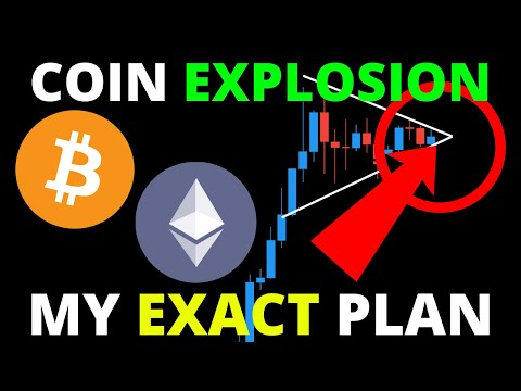 ALERT!! BITCOIN AND ALTCOINS ABOUT TO EXPLODE FURTHER! MY EXACT PLAN