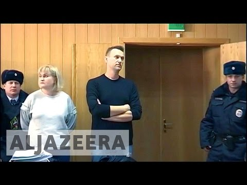 Russian opposition leader Alexei Navalny released from jail
