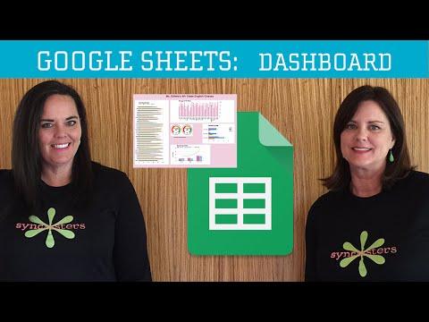 Google Sheets - Dashboard