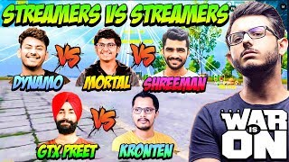Most Extreme PUBG Streamers Battle + Their Reactions | Indian Top YouTube Streamer Battle