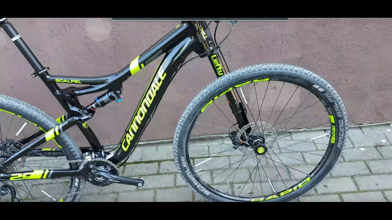 d3919400b01 Cannondale Scalpel 29 4 lefty 2016/2017 Made in Taiwan - YouTube
