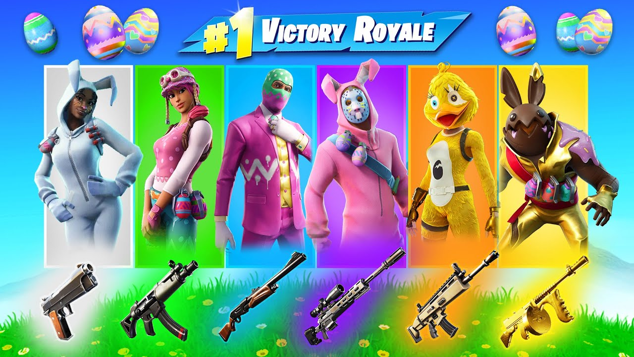 The *RANDOM* EASTER CHALLENGE in Fortnite!
