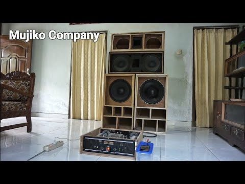 Cek Sound Hasil Pembuatan Power Amplifier