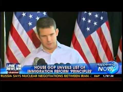 House GOP Unveils List Of Immigration Reform