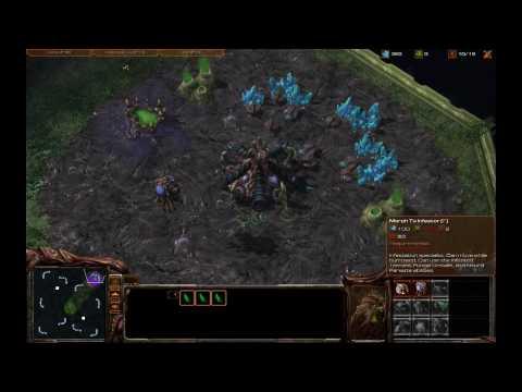 StarCraft 2 - Zerg 10 Pool Rush ZvP w/ commentary