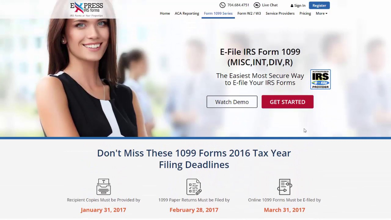Help Videos | E-File IRS Forms 1099, W-2, ACA tax Form 1095