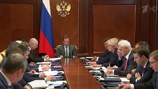 Президиум совета при президенте по стратегическому развитию обсудил исполнение национальных проектов