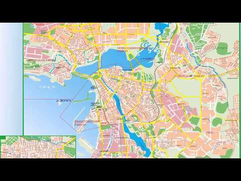 карта казани с достопримечательностями и маршрутами