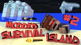Survival Island Modded - Minecraft: Opening The Hatch Part 2 (STORY)