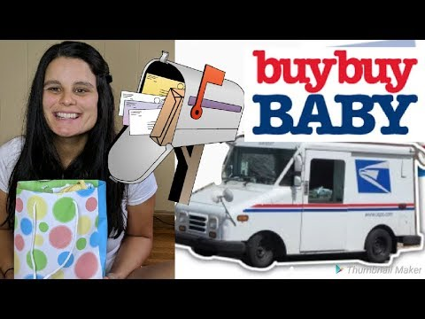 Got A FREE BuyBuy Baby Registry Bag In The Mail!?!?!?!? | UNBOXING