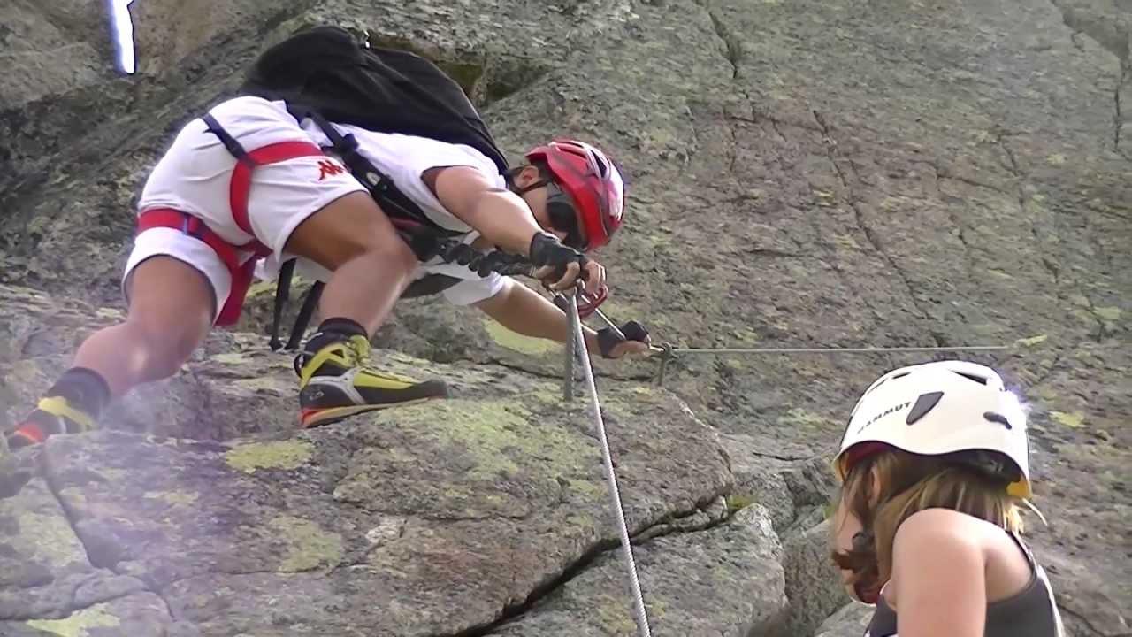 Klettersteig Nauders : Plamorter klettersteig nauders youtube