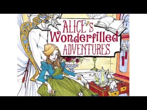 Alice's Wonderfilled Adventures: A Curious Coloring Book for Adults