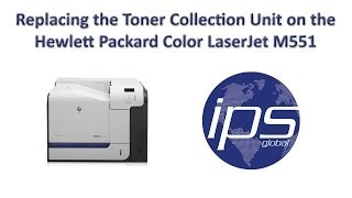 HP M551 - Replacing the Toner Collection Unit(, 2014-04-04T19:51:34.000Z)